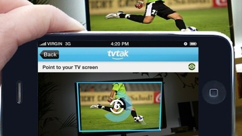 TvTak identifies the TV shows you watch using video recognition