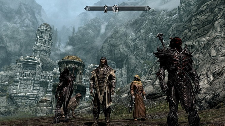 If you combine Kinect, a virtual reality helmet, and Skyrim, you get this