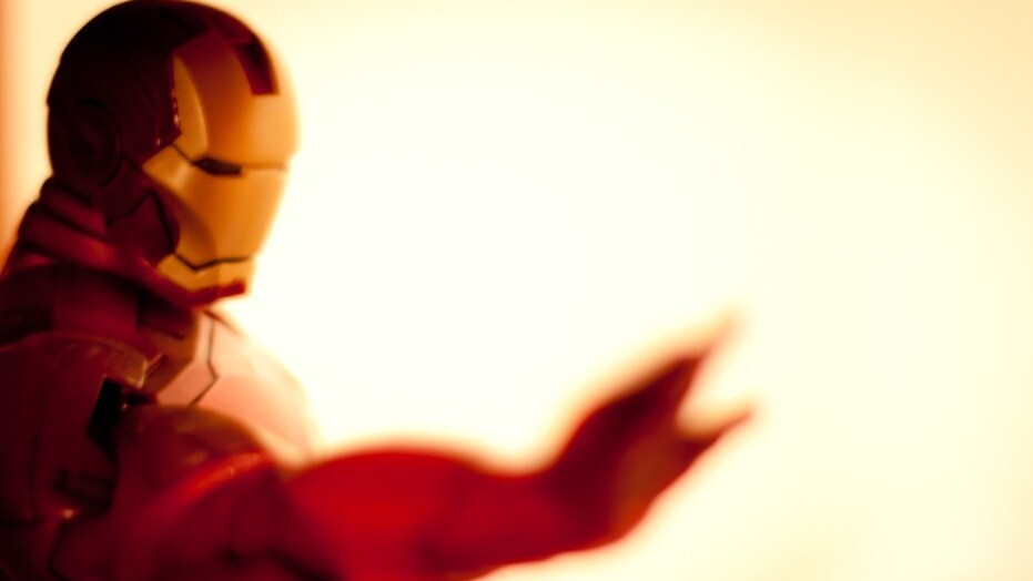 Digitally doodled Iron Man makes us yearn for CG Avengers flick