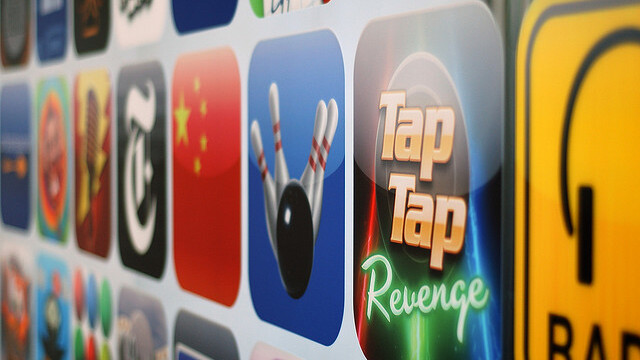 Apple's App Store: Users install 80 apps per device, each app downloaded 45,454 times on average