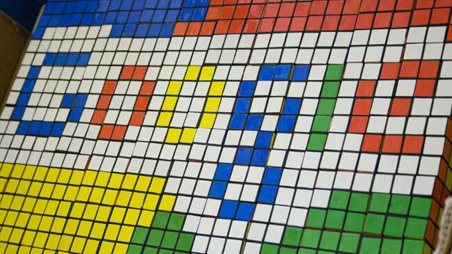 Google Play gets top billing in Google's black navigation bar