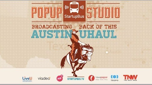 Watch Now Live: Tracking the progress of StartupBus at the Rackspace HQ