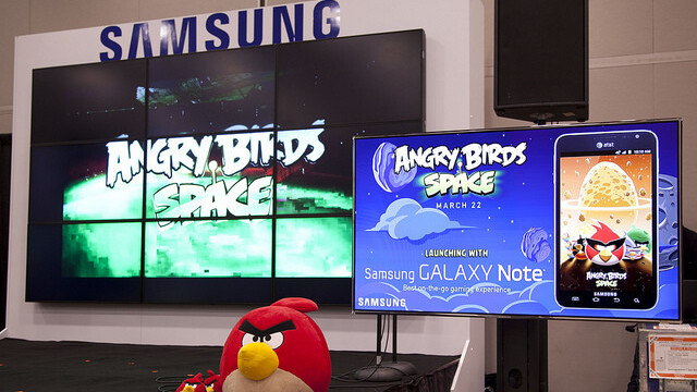 Angry Birds Space unseats Draw Something as top grossing app on the App Store
