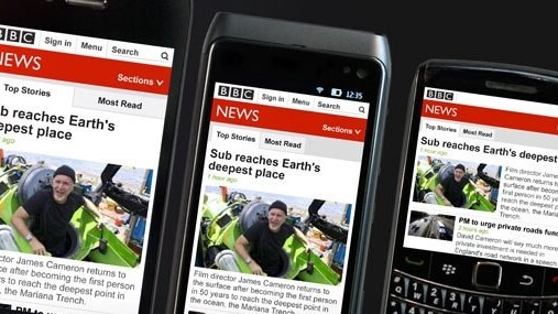The BBC rolls out new 'responsive' mobile site, tailoring news layout to suit multiple devices