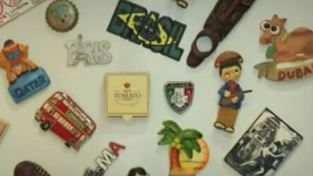This 'VIP Fridge Magnet' lets you order pizza at the push of a button
