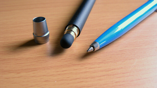 Wacom's new Bamboo Stylus Duo is a pen and touch-screen stylus all rolled into one