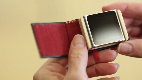 This teeny tiny portfolio case for the iPod nano is the only April Fools gag I really want to buy