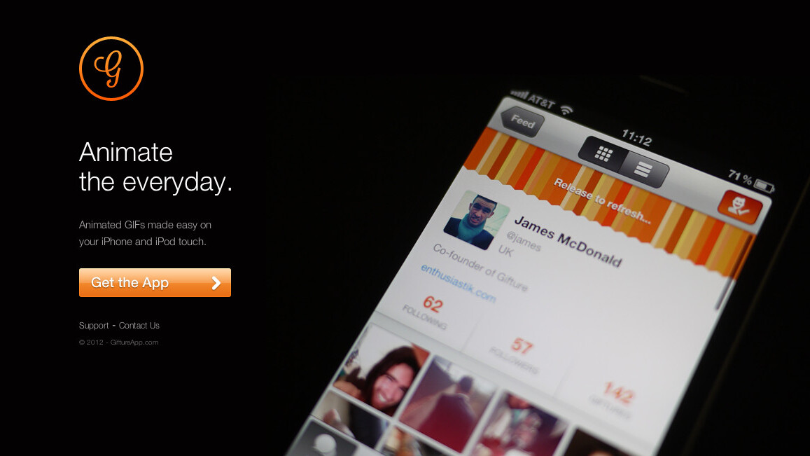 Gifture: The stunning iOS app that turns your photos into awesome animated GIFs