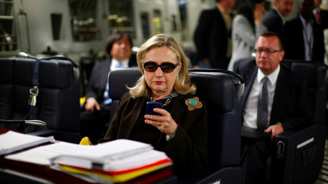 Tumblr Tuesday on a Wednesday: Because this guy was busy texting Hillary Clinton