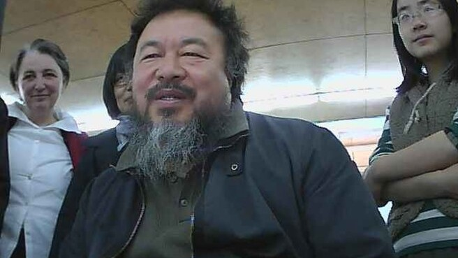 China critic Ai Weiwei on how the Web will bring freedom and why China can't design an iPhone
