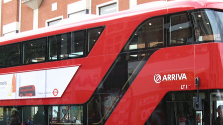 Bus-Tops the London LED art show offers free exhibition space to the eagle-eyed
