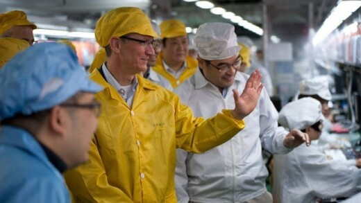 iPhone manufacturer Foxconn could be building a plant in Wisconsin