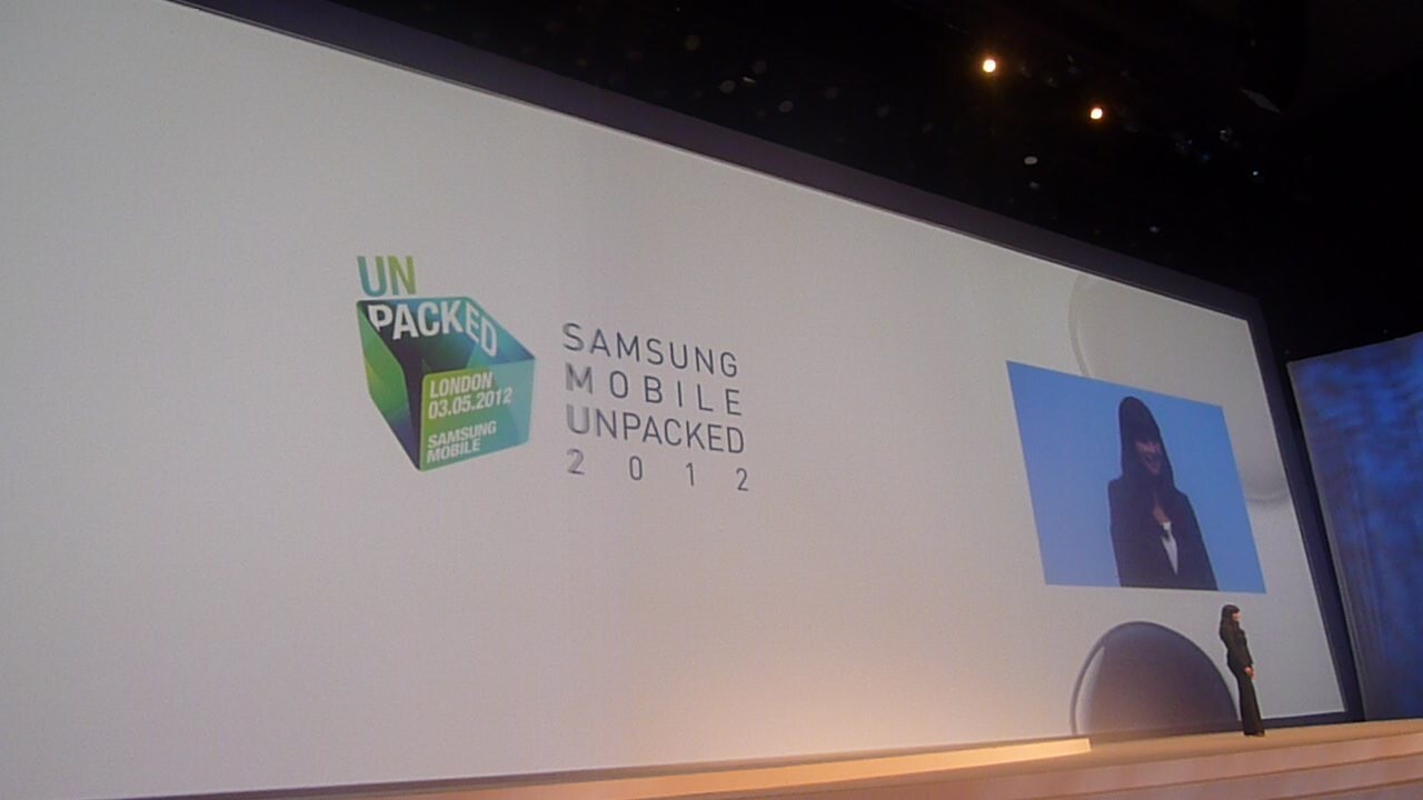 Live from Samsung's Galaxy S III launch event