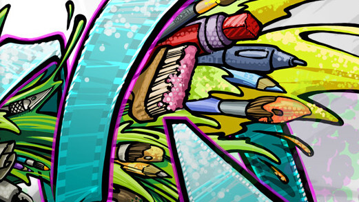 deviantART updates its HTML5 drawing app with the ability to replay artwork as it's created