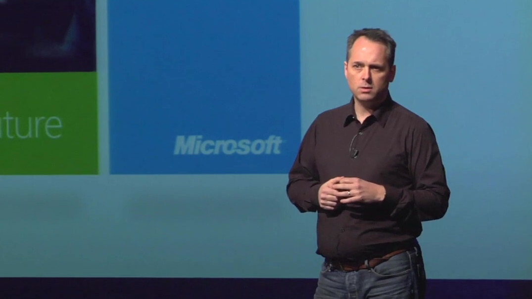 """Steve Clayton on Microsoft's push for """"natural user interfaces"""""""