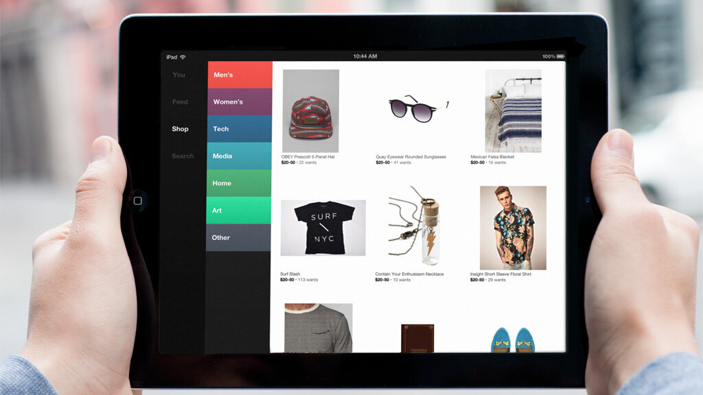 Svpply unveils its elegant new iPad app featuring endless browsing of 80,000 stores