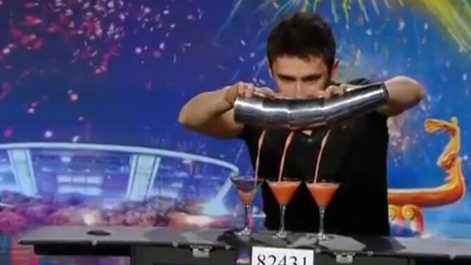 This bartender is the most amazing video you'll watch today [Video]
