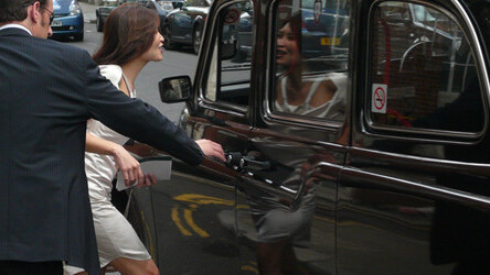 Catch up with headlines on the move as VeriFone launches Sky News in London's iconic black cabs