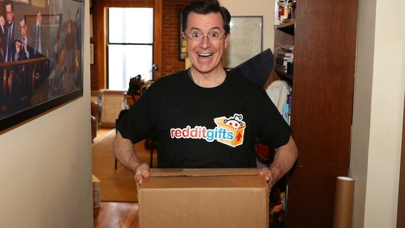 Reddit announces gifts for the troops initiative with Stephen Colbert