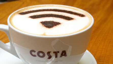 UK coffee chain Costa links up with O2 to offer free WiFi  in time for Olympics