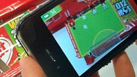 Blippar brings an augmented reality football game to Kit Kat wrappers