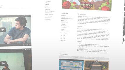 Presskit() makes it easy for game developers to build beautiful press kits