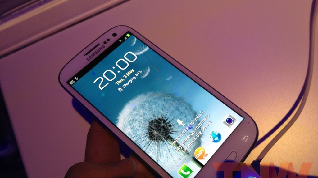 Samsung Galaxy S III confirmed as official Olympic phone, delivering NFC payWave payments to athletes