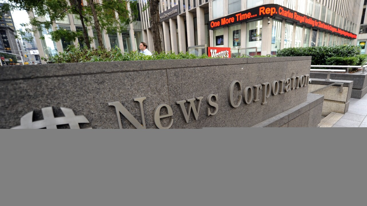 Confirmed: News Corp to split into two publicly traded companies