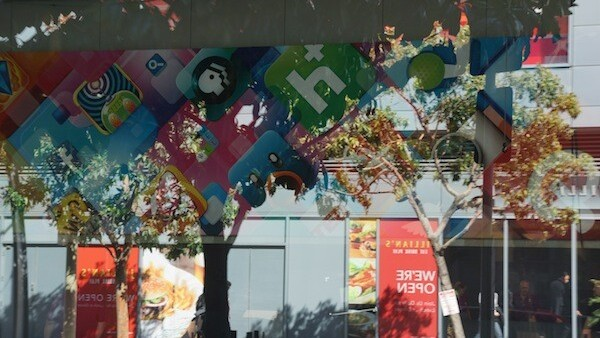 """WWDC 2012 Banners go up at Moscone West in SF: """"Where great ideas go on to do great things."""""""