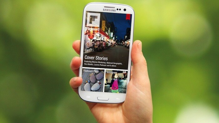 Flipboard comes to Android, bundles with Samsung's Galaxy S III and gets Google+ and YouTube tie-ins
