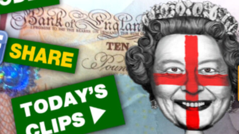 Paddy Power and Blippar bring the Queen to life on £10 notes…just in time for Euro 2012