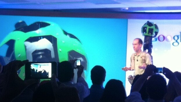 Google announces Trekker, a project using backpack units to record off-road 'Street View' data