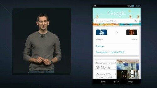 """Google introduces a new search experience with """"Google Now"""" and Knowledge Graph for Jelly Bean"""