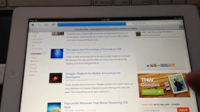 Hands on with Google Chrome for iOS [Video]