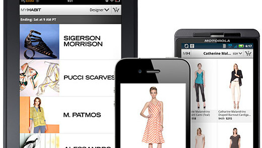 Amazon releases MYHABIT private shopping apps for Kindle Fire and Android