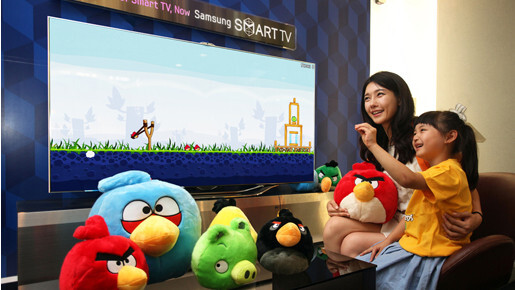 Angry Birds to catapult onto Samsung Smart TVs this month with new gesture controls