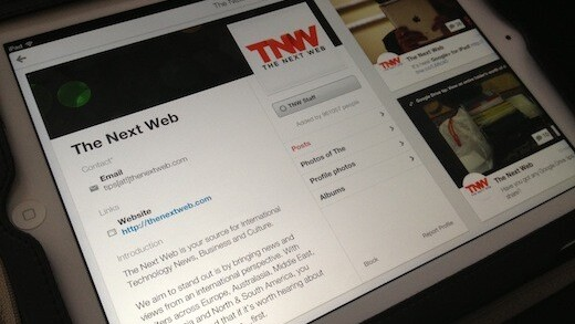 Hands on with Google+ for the iPad – A promising app, with a few annoyances