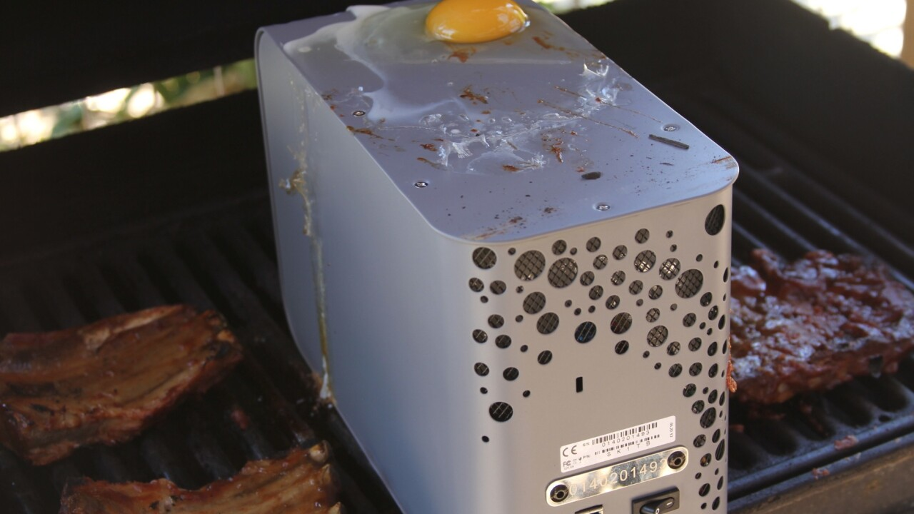 I barbecued and drowned this hard drive and it still works