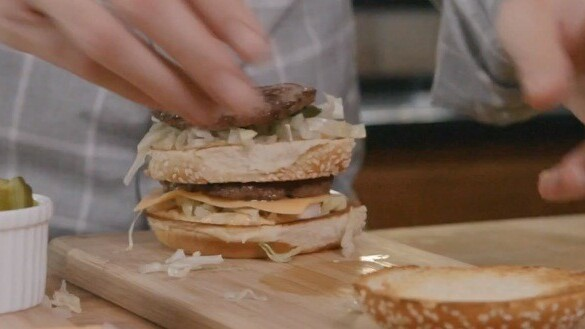 How to make a Big Mac at home. McDonald's PR is killing it with these videos.