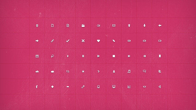 Size matters: 21 Gorgeous petite icon sets crafted by pixel-perfect designers