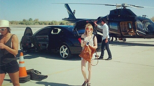 Want to know what insanely filthy rich kids post on Instagram?