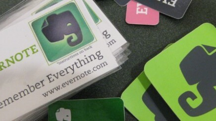 Evernote adds Activity Stream and Retina display support