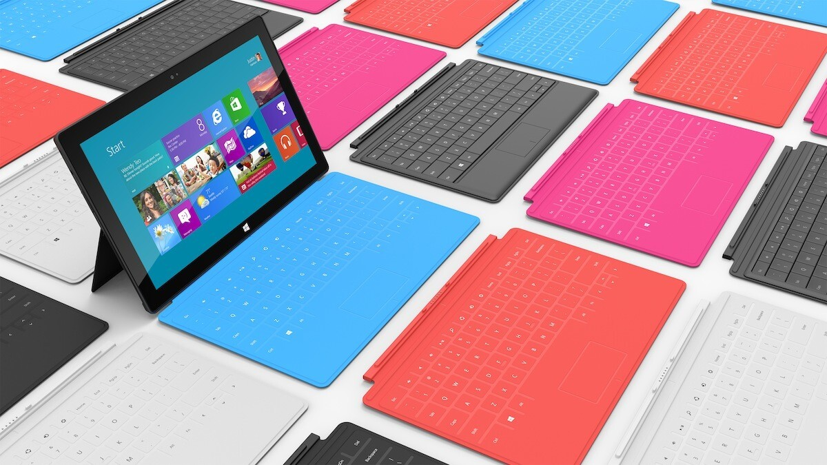 Microsoft's Surface Touch Cover – It's stylish, but touch typing might be a tad difficult