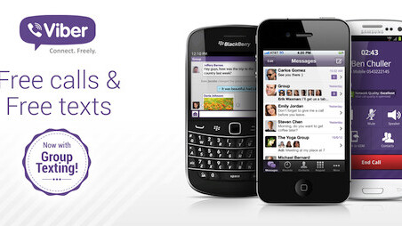 Now at 90 million users, free calling app Viber adds group messaging feature