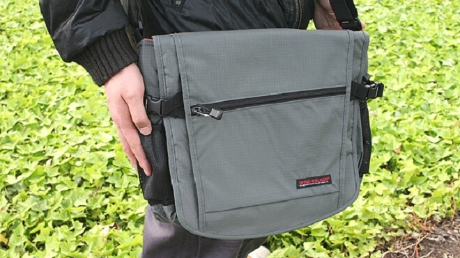 Nomadic's Wise-Walker messenger bag fits loads of gear in an impossibly-small space