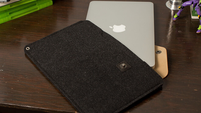 Review: Mujjo Originals sheathes your MacBook in lovely swatches of leather and felt