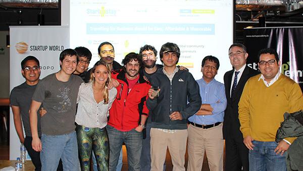 Dipoo wins Startup World: Lima, Peru