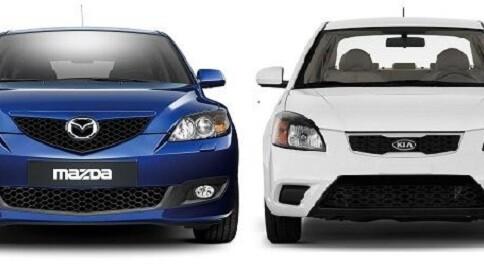 Head to head: Mazda 3 vs Kia Rio in the budget-geek auto showdown