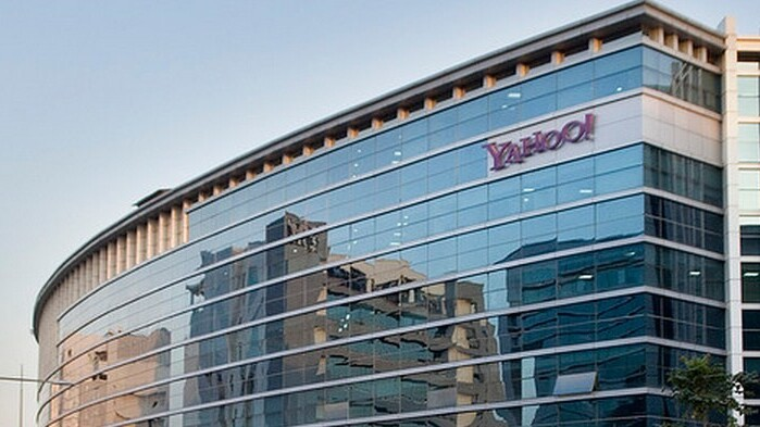 """Stating that Yahoo will become a """"predominantly mobile company,"""" Mayer talks down immediate acquisition plans"""