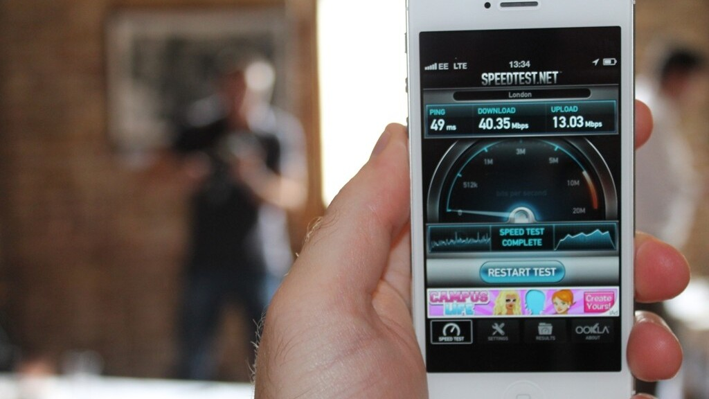 Here's how the iPhone 5 fares on EE's new UK 4G network